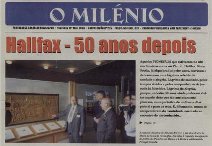 O MILENIO: 2003/05/15 Issue 235