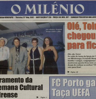 O MILENIO: 2003/05/22 Issue 236