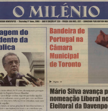 O MILENIO: 2003/06/05 Issue 238