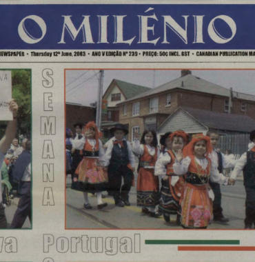 O MILENIO: 2003/06/12 Issue 239
