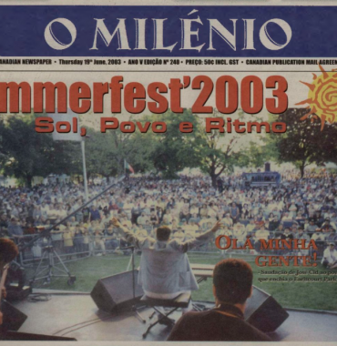 O MILENIO: 2003/06/19 Issue 240