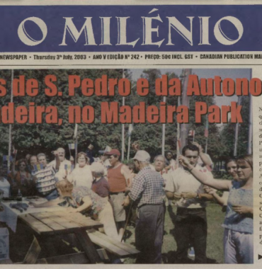 O MILENIO: 2003/07/03 Issue 242