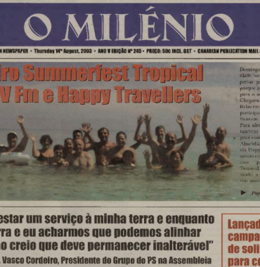 O MILENIO: 2003/08/14 Issue 245
