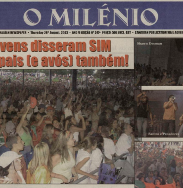 O MILENIO: 2003/08/28 Issue 247