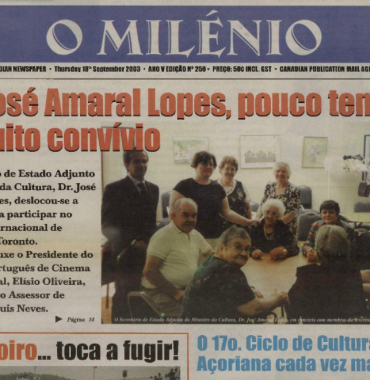 O MILENIO: 2003/09/18 Issue 250