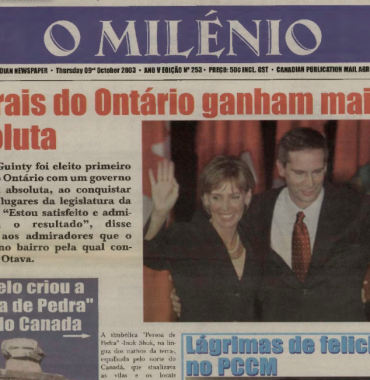 O MILENIO: 2003/10/09 Issue 253