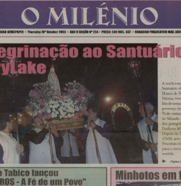 O MILENIO: 2003/10/16 Issue 254