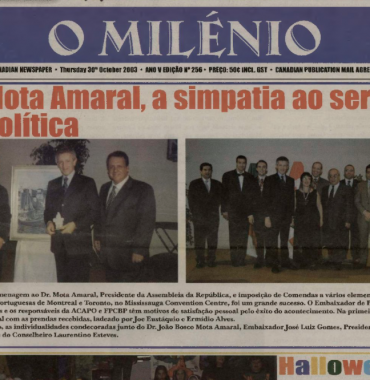O MILENIO: 2003/10/30 Issue 256