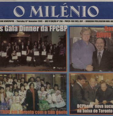 O MILENIO: 2003/11/13 Issue 258