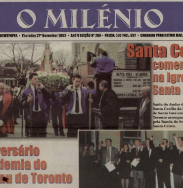 O MILENIO: 2003/11/27 Issue 260