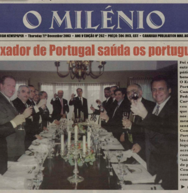 O MILENIO: 2003/12/11 Issue 262