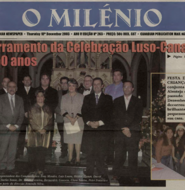 O MILENIO: 2003/12/18 Issue 263