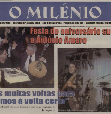 O MILENIO: 2004/01/08 Issue 266