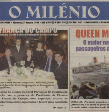 O MILENIO: 2004/01/22 Issue 268