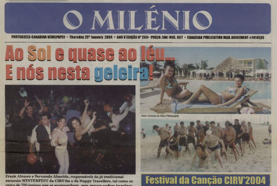 O MILENIO: 2004/01/29 Issue 269