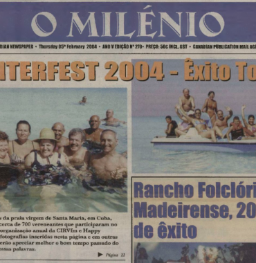 O MILENIO: 2004/02/05 Issue 270