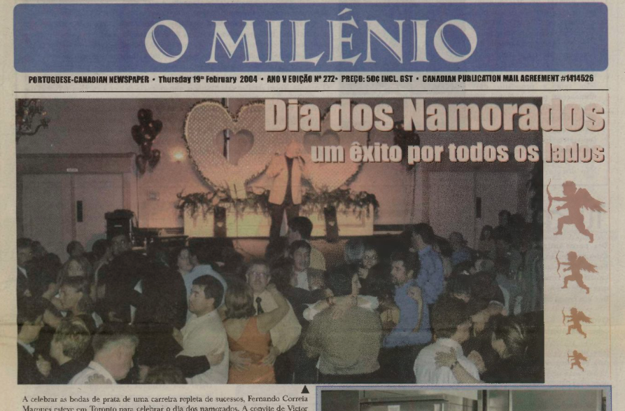 O MILENIO: 2004/02/19 Issue 272