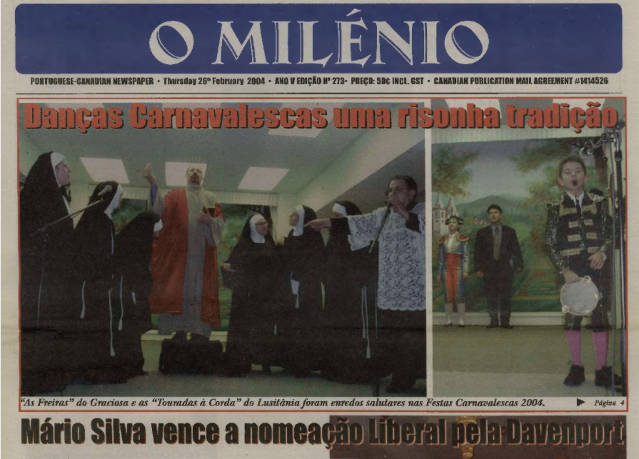 O MILENIO: 2004/02/26 Issue 273