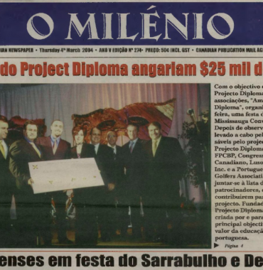 O MILENIO: 2004/03/04 Issue 274