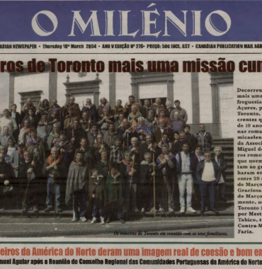 O MILENIO: 2004/03/18 Issue 276