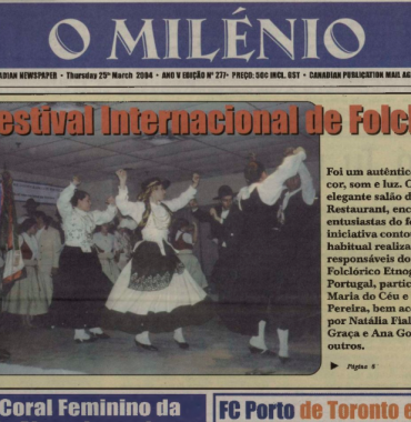 O MILENIO: 2004/03/25 Issue 277
