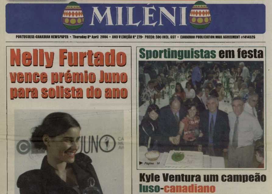 O MILENIO: 2004/04/08 Issue 279