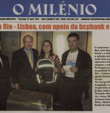O MILENIO: 2004/04/15 Issue 280
