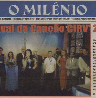 O MILENIO: 2004/04/22 Issue 281