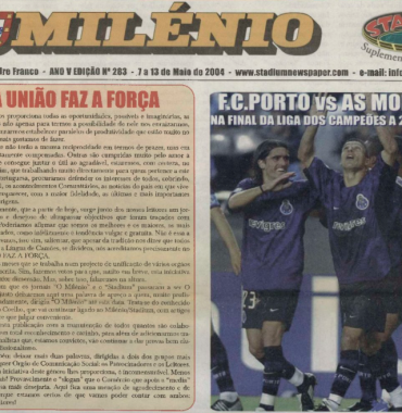 O MILENIO: 2004/05/07 Issue 283