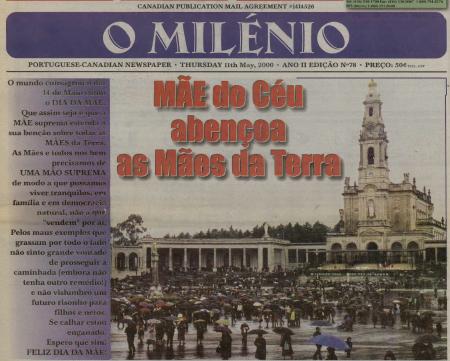 O MILENIO: 2000/05/11 Issue 78