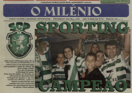 O MILENIO: 2000/05/18 Issue 79