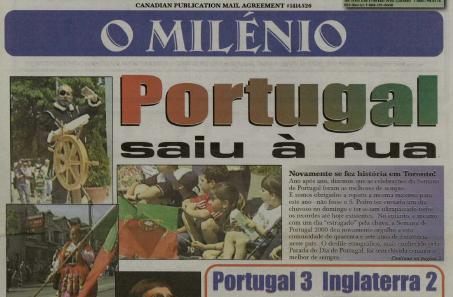 O MILENIO: 2000/06/15 Issue 83
