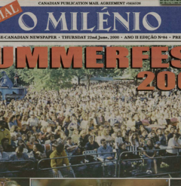 O MILENIO: 2000/06/22 Issue 84