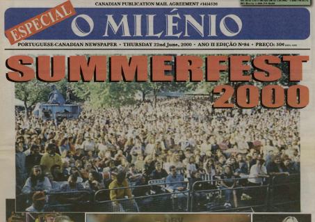 O MILENIO: 2000/06/22 Issue 84