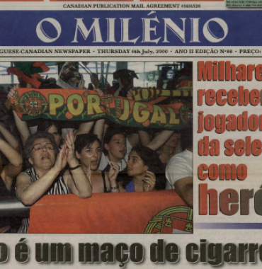 O MILENIO: 2000/07/06 Issue 86