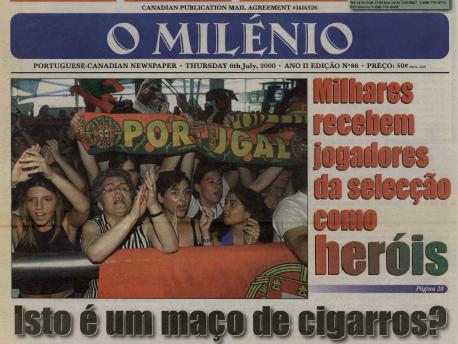 O MILENIO: 2000/07/06 Issue 86