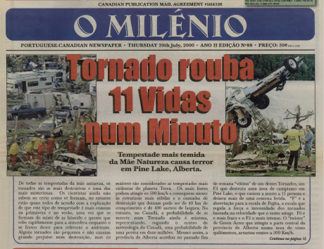 O MILENIO: 2000/07/20 Issue 88