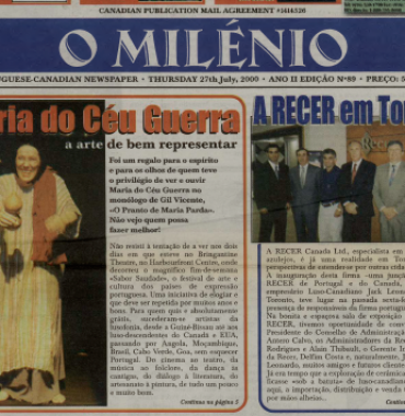 O MILENIO: 2000/07/27 Issue 89