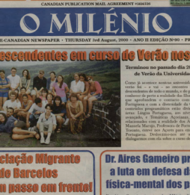 O MILENIO: 2000/08/03 Issue 90