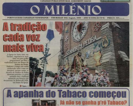 O MILENIO: 2000/08/10 Issue 91