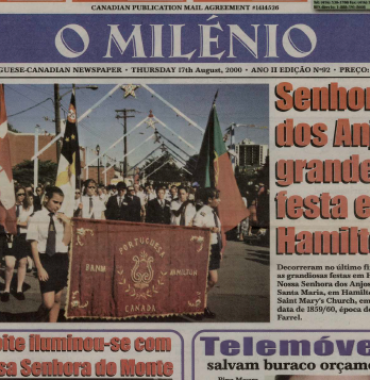 O MILENIO: 2000/08/17 Issue 92
