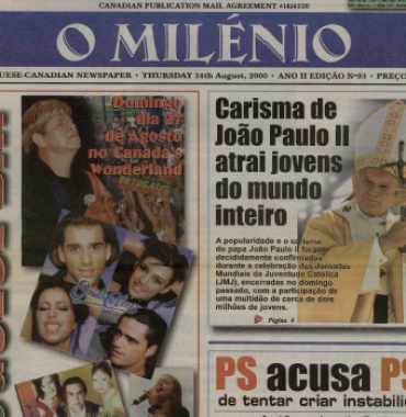 O MILENIO: 2000/08/24 Issue 93