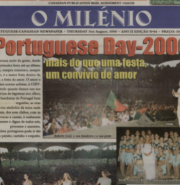 O MILENIO: 2000/08/31 Issue 94