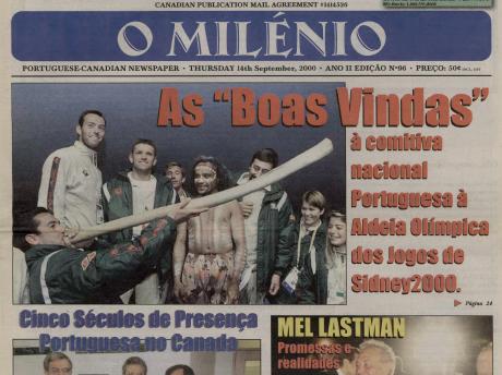 O MILENIO: 2000/09/14 Issue 96