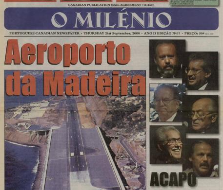 O MILENIO: 2000/09/21 Issue 97