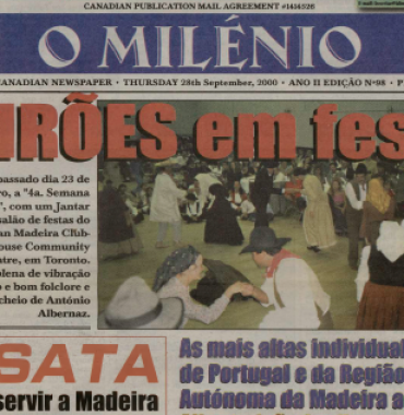 O MILENIO: 2000/09/28 Issue 98