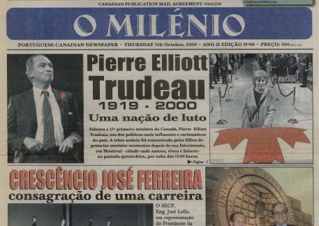 O MILENIO: 2000/10/05 Issue 99