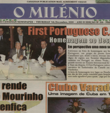 O MILENIO: 2000/12/07 Issue 108
