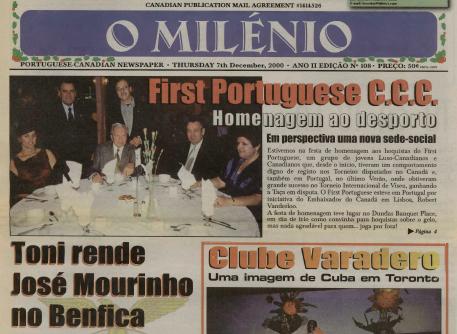 O MILENIO: 2000/12/07 Issue 108