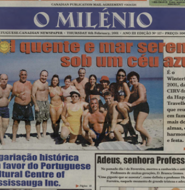 O MILENIO: 2001/02/08 Issue 117